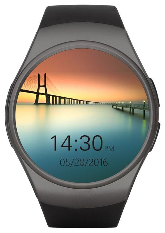 Смарт часы Kingwear KW18 Black/Black