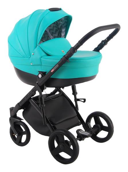 Купить Коляска 2 в 1 Lonex Comfort Galaxy бирюзовая, Детские коляски 2 в 1