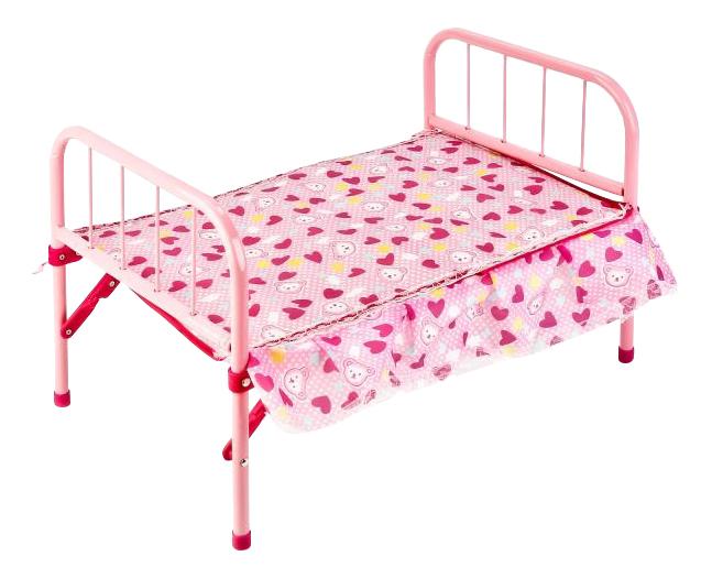 Кроватка для кукол с матрасом Карапуз B1403781-RU