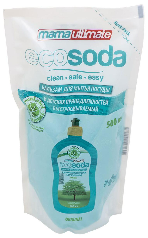Бальзам для мытья посуды Mama Ultimate ecosoda