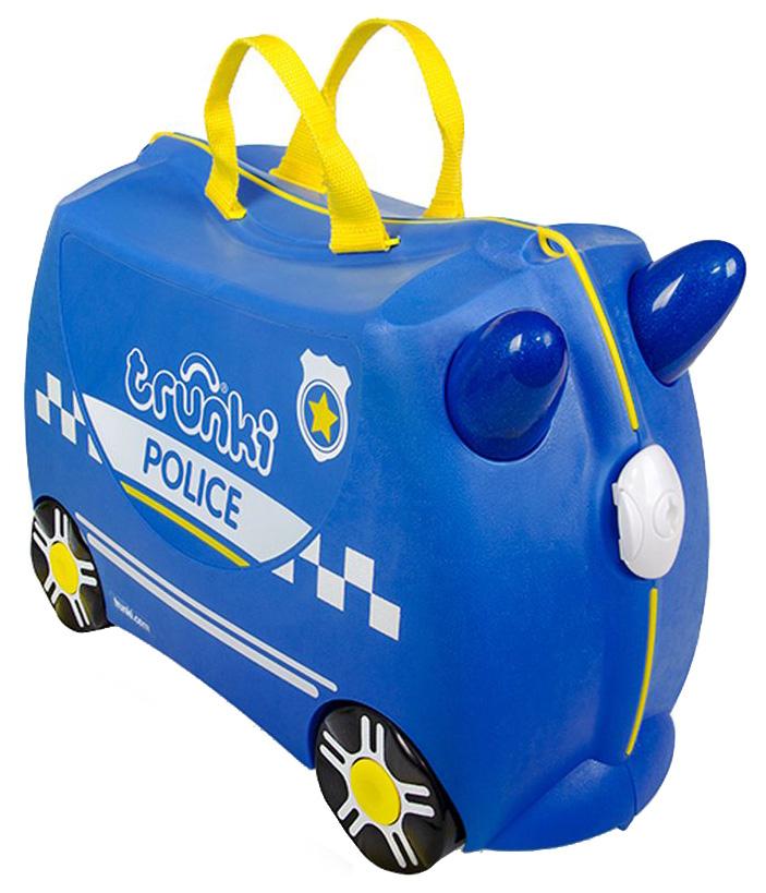 Чемодан на колесиках Trunki Полицейская машина Перси 0323-GB02 фото