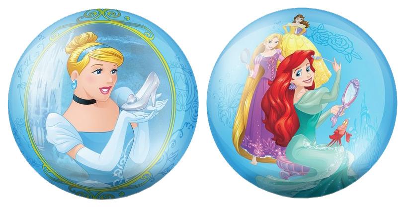 Купить Мячик детский ЯиГрушка Принцессы 23 см голубой 82304, Детские мячи