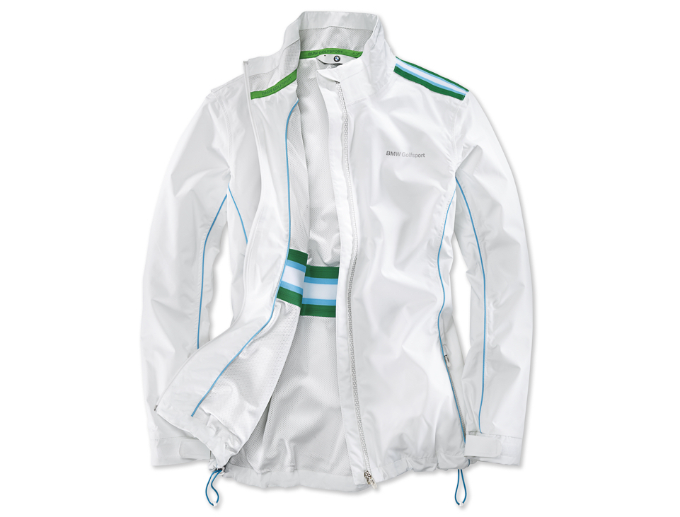 Женская куртка BMW Golfsport 80142285712 White/Green