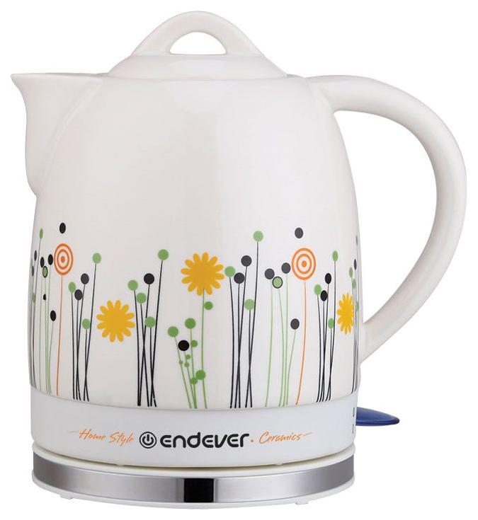 Чайник электрический Endever KR 430C White