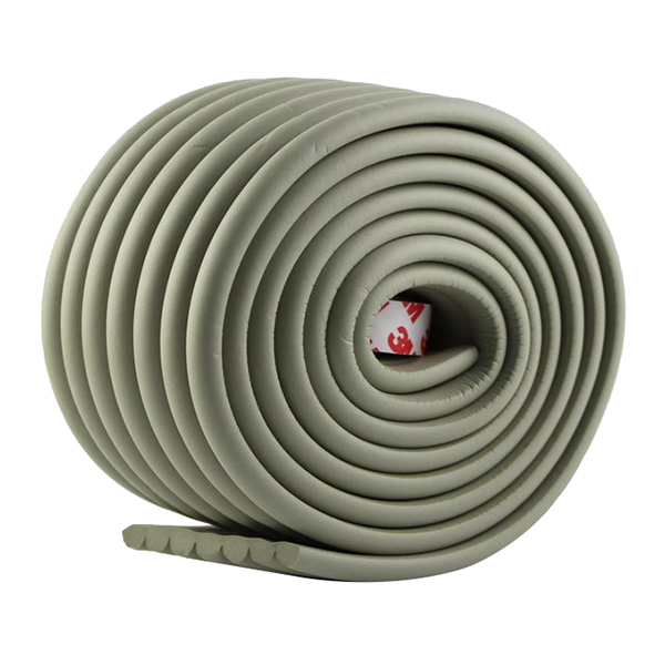 Защитная лента на углы широкая Happy Mom 2 м серый
