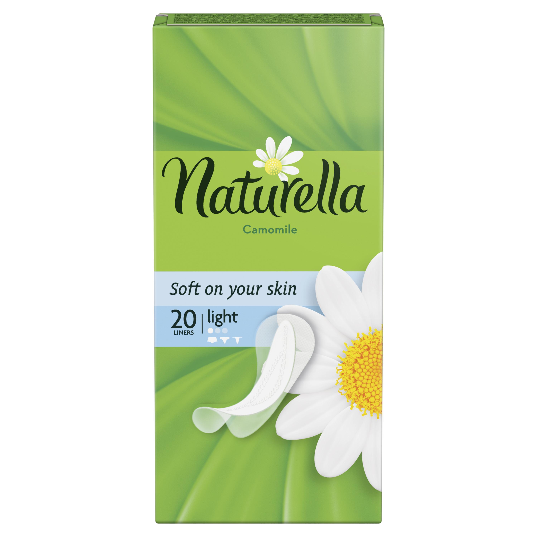Прокладки Naturella ежедневные Camomile Light Deo Single 20шт