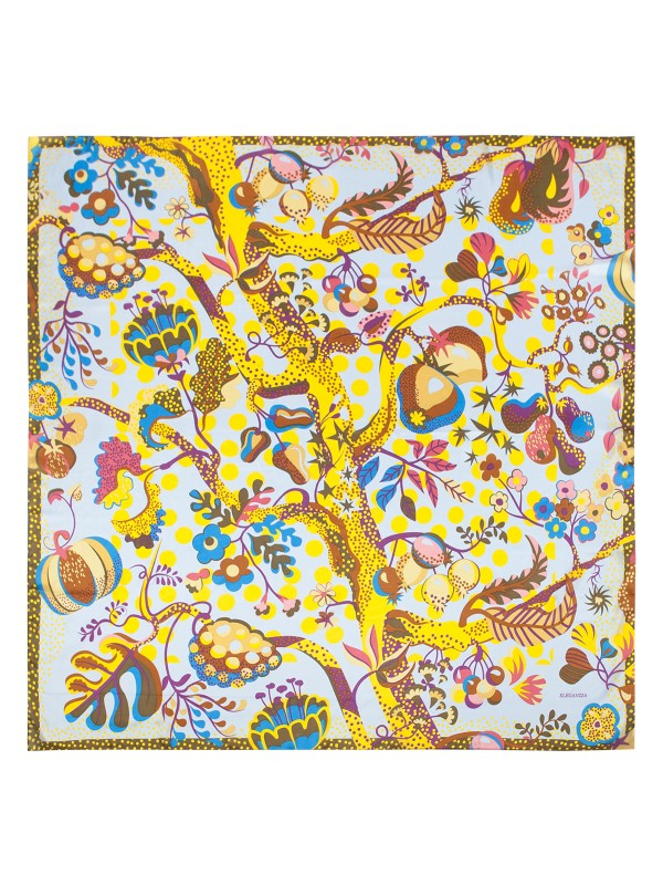Платок женский Eleganzza E05-7159 желтый фото