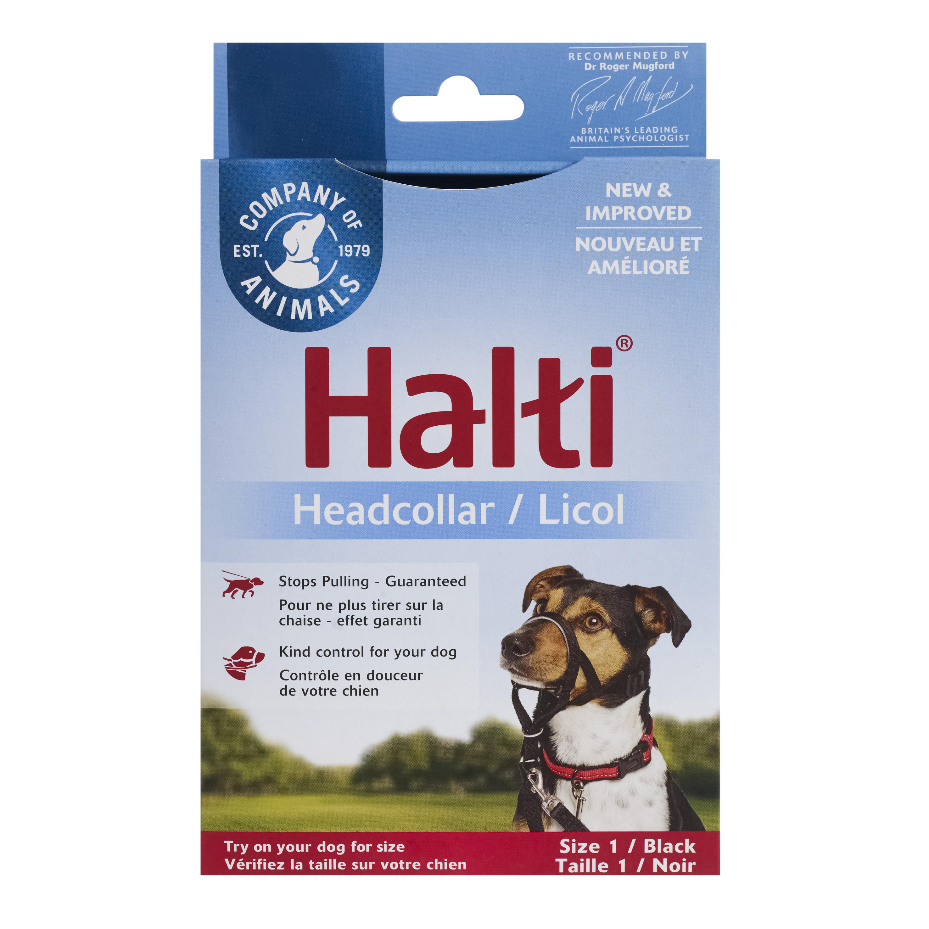 Недоуздок для собак COA HALTI Headcollar, Size