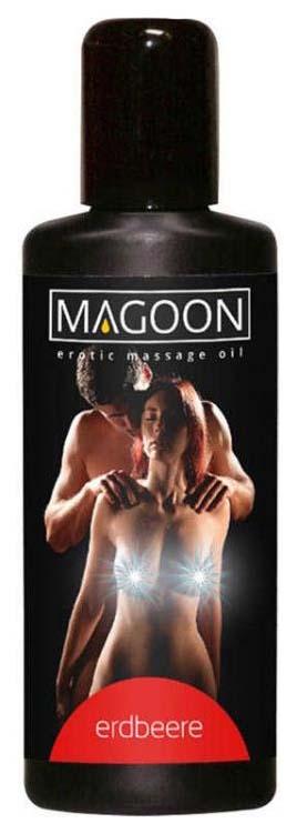 Массажное масло Orion Magoon Strawberry 100 мл