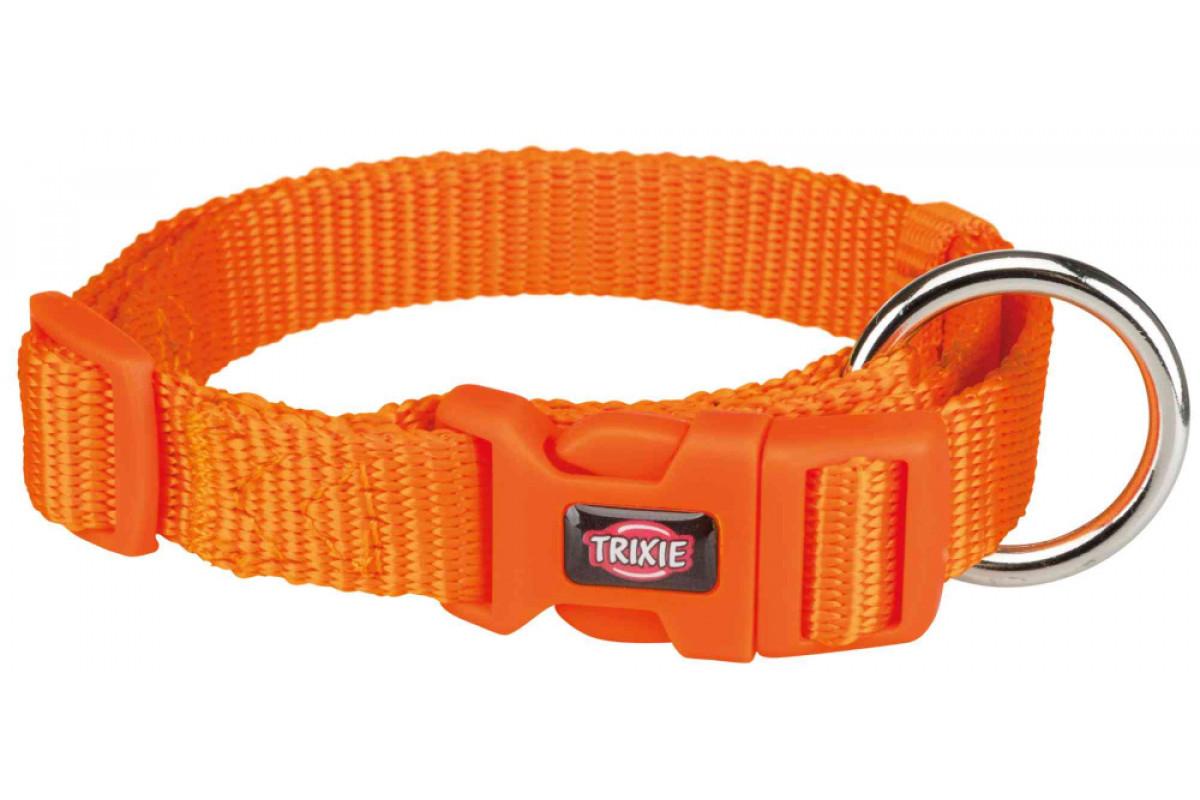 Ошейник для собак TRIXIE Premium, папайя, M-L, 35-55см, 20мм