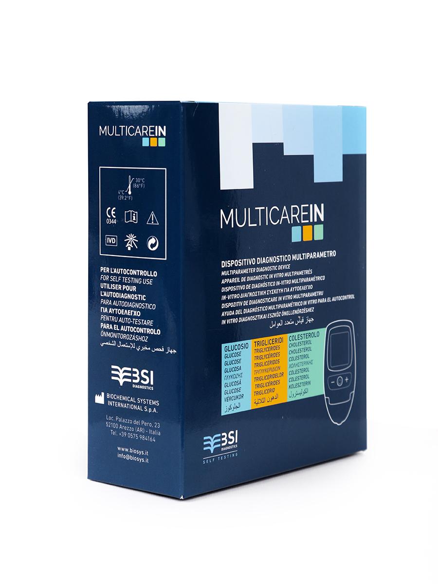 Экспресс анализатор крови MultiCare in Портативный