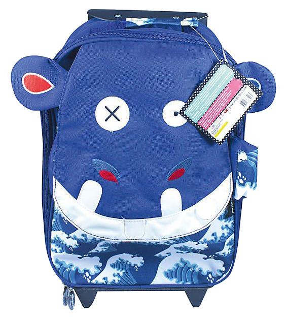 Детский чемодан Deglingos Hippipos L\'Hippo, 48 см
