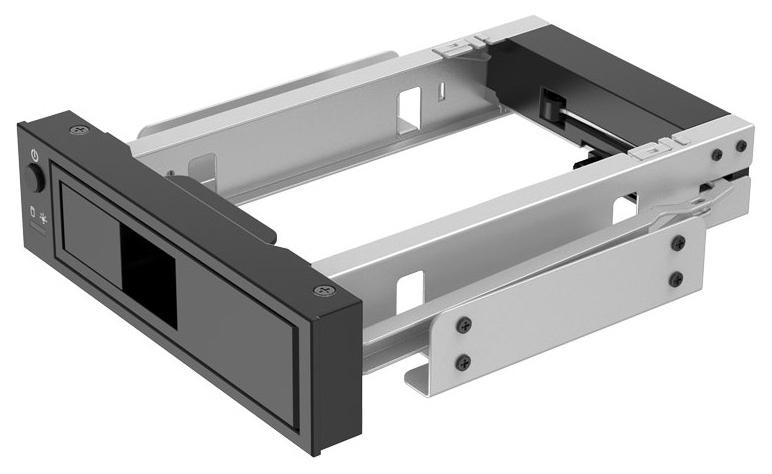 Mobile rack для HDD 3.5 SATA 3 Orico 1106SS-BK SATA Black  - купить со скидкой