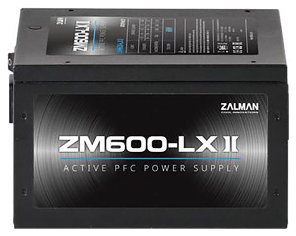Блок питания компьютера Zalman ZM600 LXII