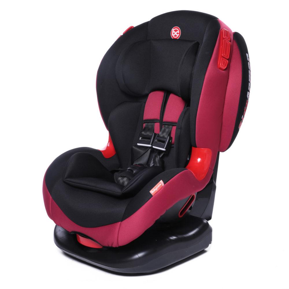 Купить Автокресло Baby Care BC-120 красное, группа 1/2, 9-25 кг,