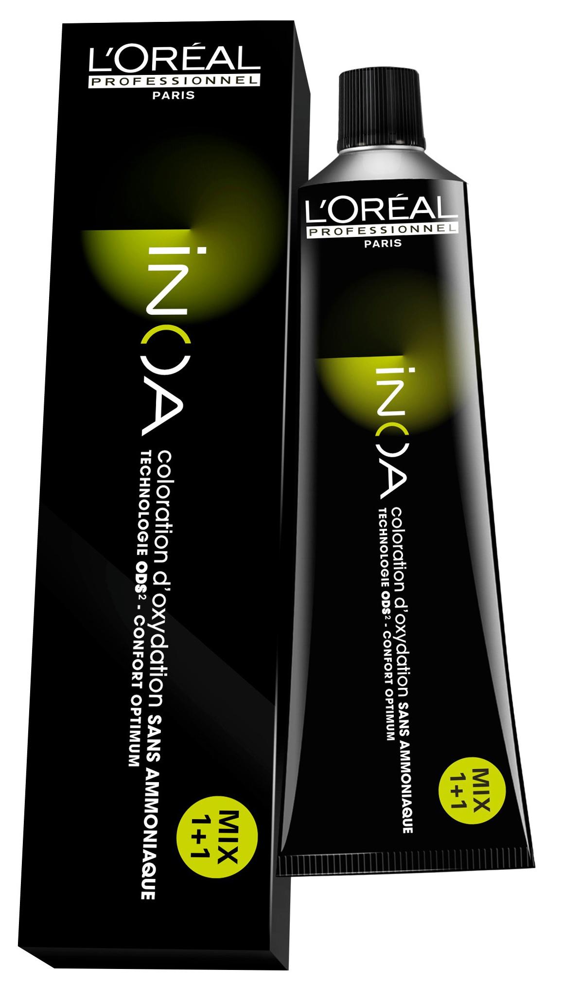 Купить Краска для волос L'Oreal Professionnel Inoa ODS2 5.5 Светлый Шатен Махагоновый 60 мл