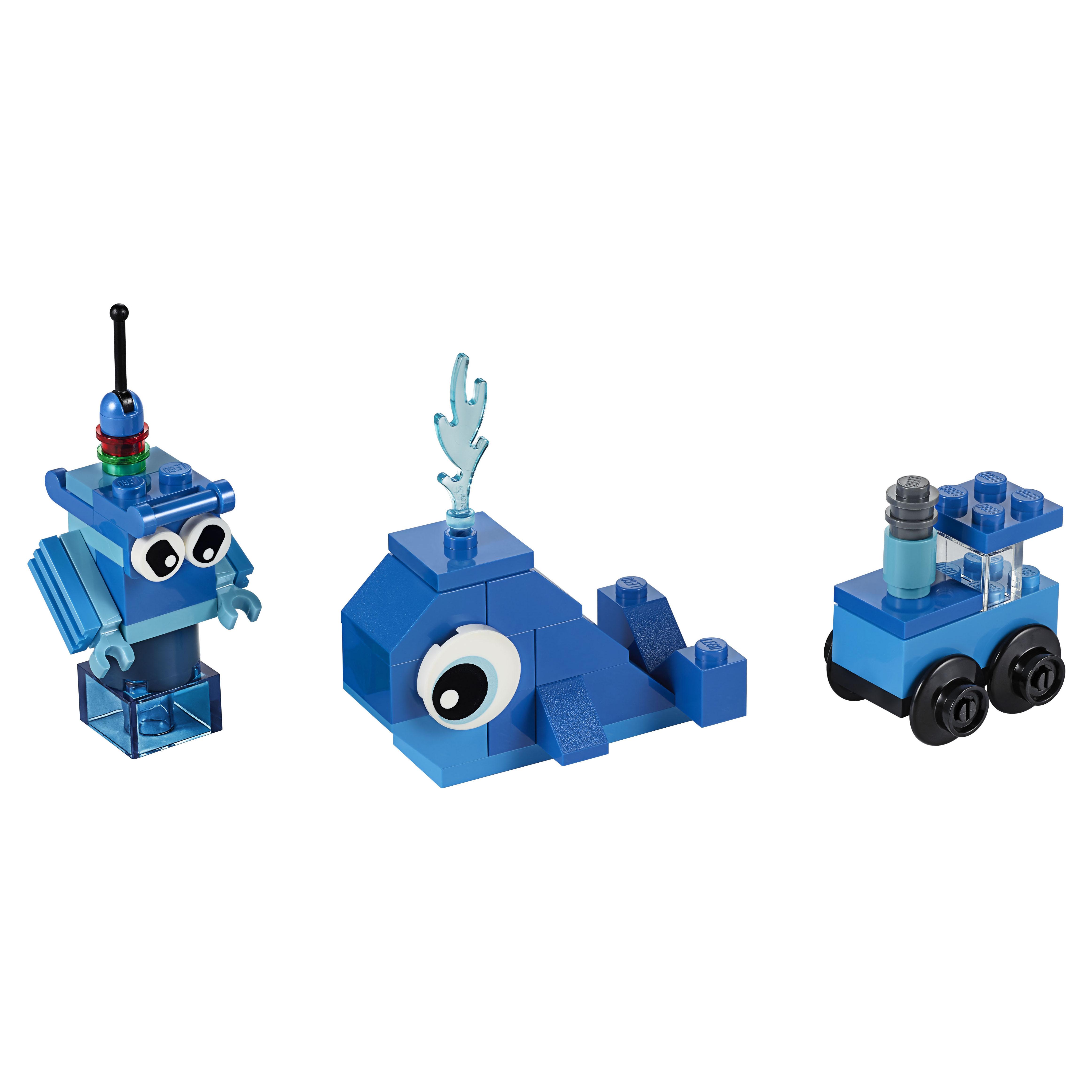 Купить Конструктор LEGO Classic 11006 Синий набор для конструирования, LEGO для девочек