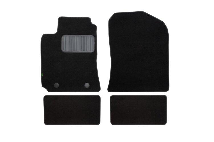 Коврики в салон Klever Standard для GEELY Emgrand X7 2013, 4 шт. текстиль