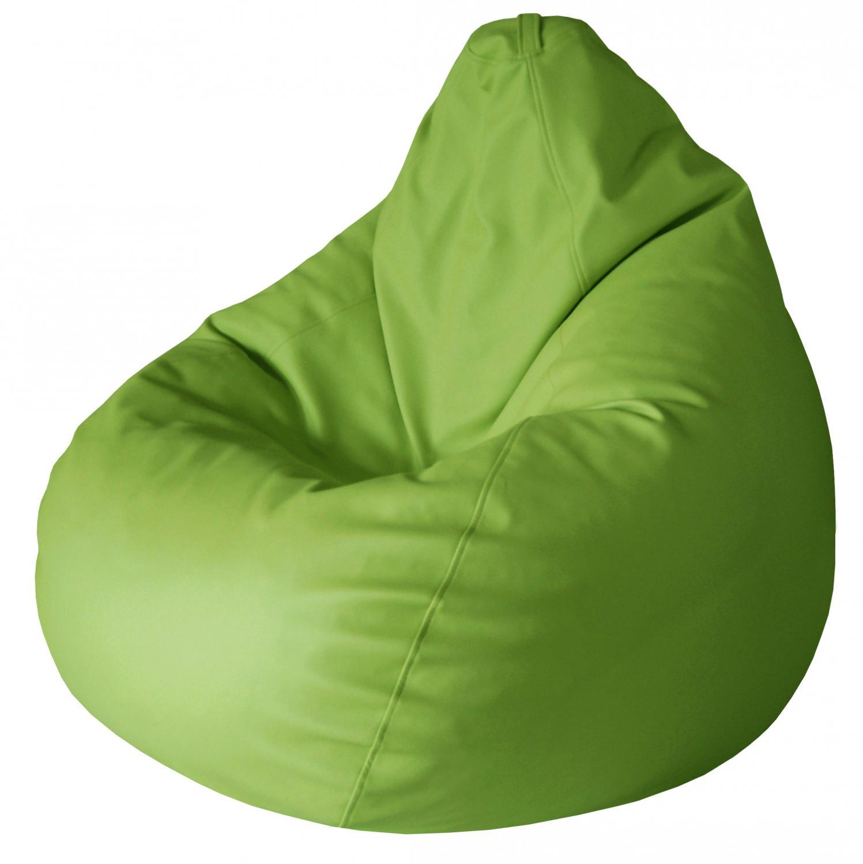 Кресло-мешок Папа Пуф Экокожа Зеленый, размер XL, экокожа, зеленый фото