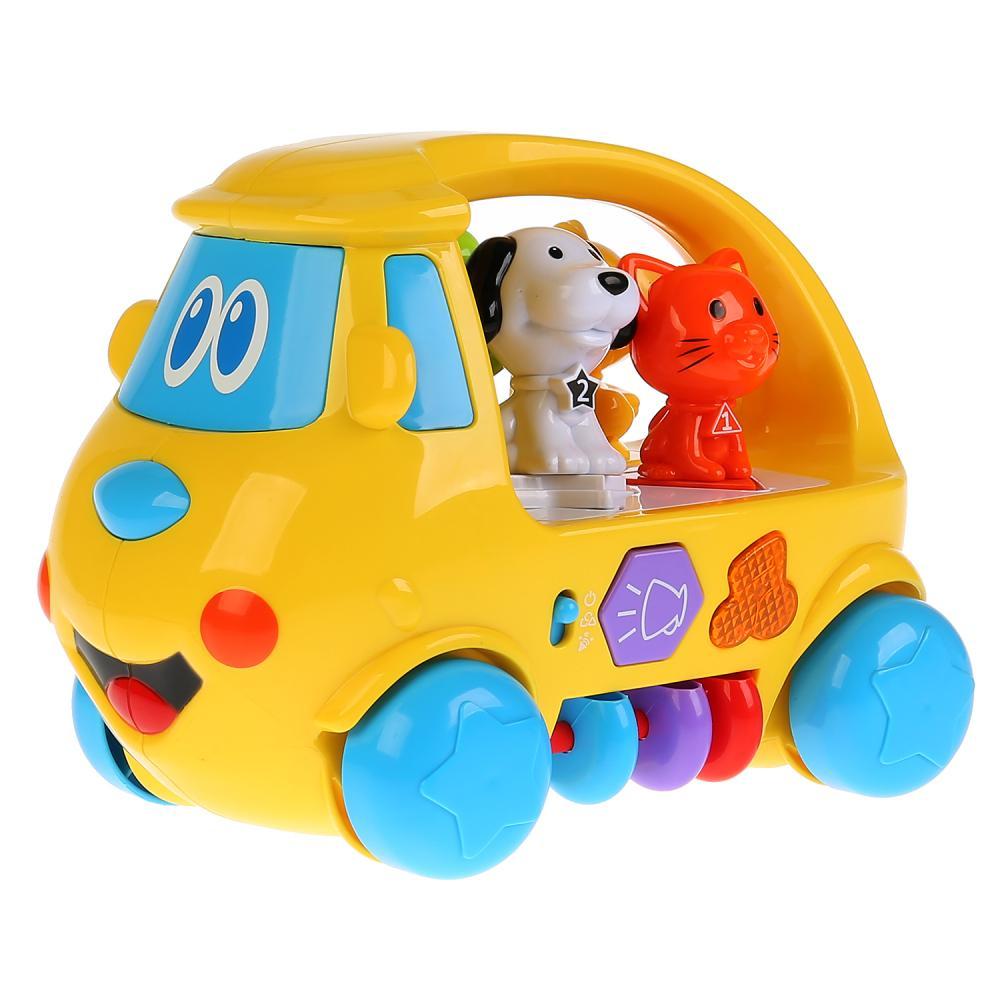 Развивающий автобус Умка Стихи Дружининой сортер, каталка, музыкальная игрушка
