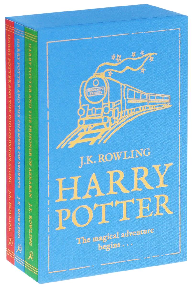 Купить Книга Bloomsbury Publishing Harry Potter: The Magical Adventure Begins. Volumes 1-3, Детская художественная литература