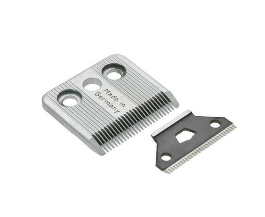 Ножевой блок MOSER для машинки для стрижки животных Moser 1400, на винтах, сталь, 0,1-3 мм фото