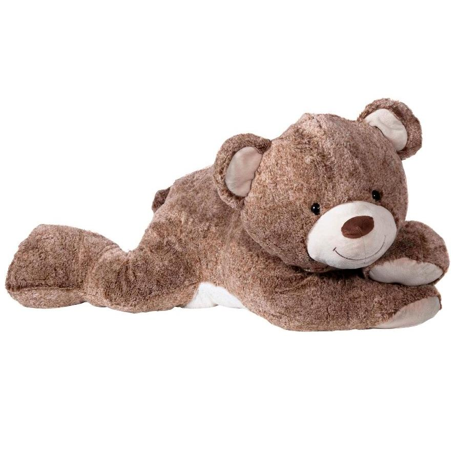 Купить Мягкая игрушка Molli Мишка лежачий, 80 см,