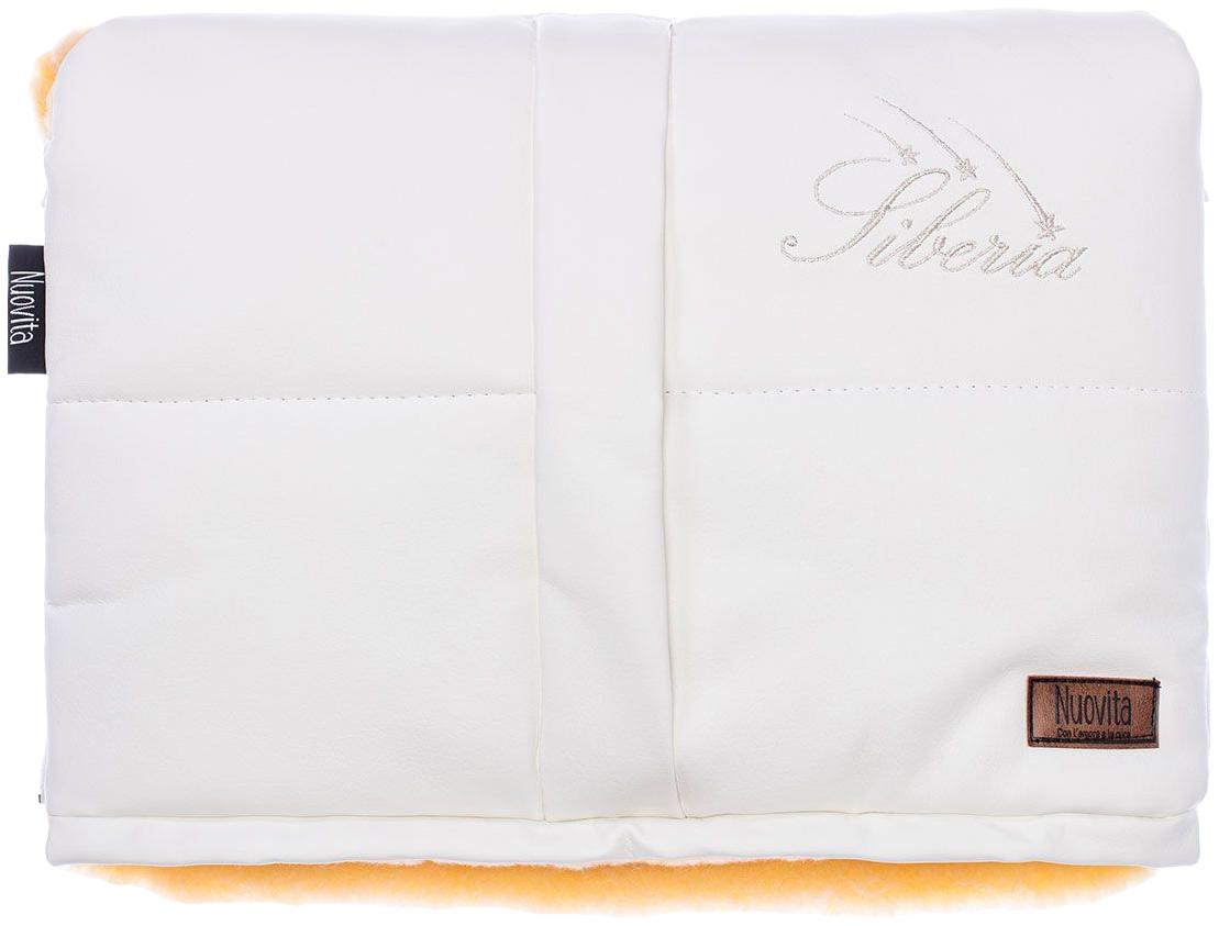 Муфта меховая для коляски Nuovita Siberia Lux Pesco белая