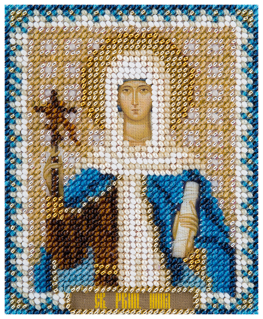 Вышивка бисером Panna Икона Святой Равноапостольной Нины, просветительницы Грузии ЦМ-1833