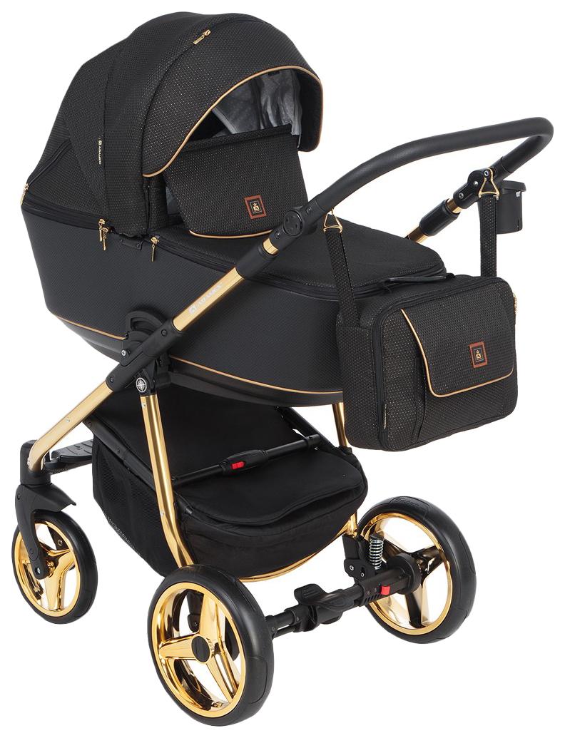 Купить Коляска 2 в 1 Adamex Barcelona Special Edition BR-442 цвет черный, Детские коляски 2 в 1