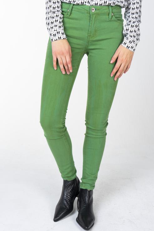 Джинсы женские Incity 1.1.2.18.01.08.00111 зеленые 26/32 RU