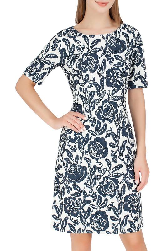 Платье женское SERGINNETTI 5-638-4211-22 синее 48 RU фото
