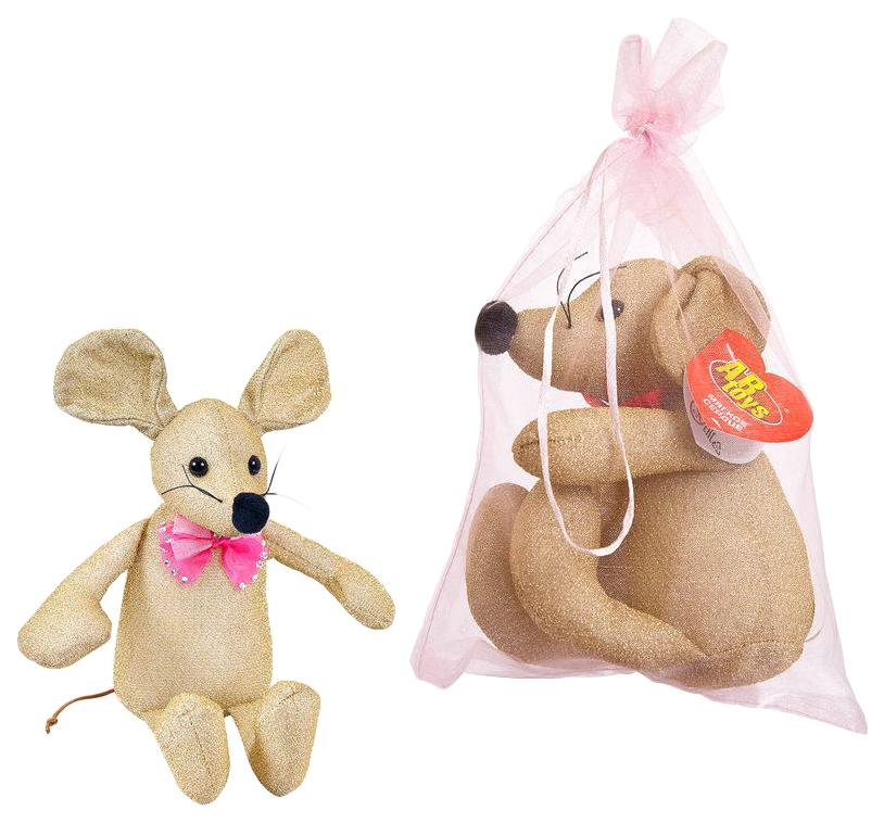 Купить Мягкая Игрушка Abtoys Мышка M2096, Мягкие игрушки животные