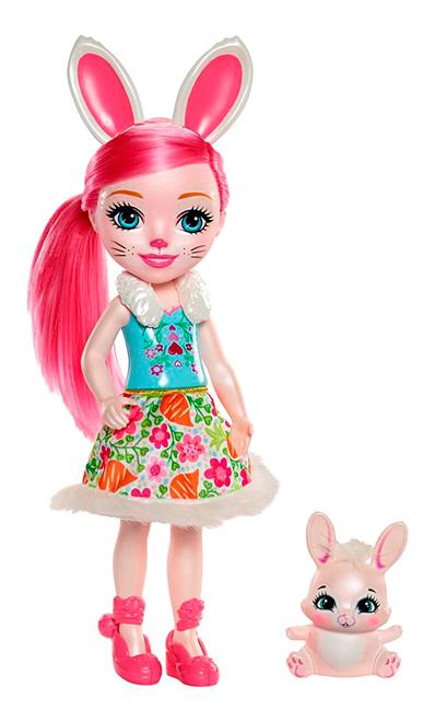 Купить Кукла Enchantimals Кролик Бри FRH52,