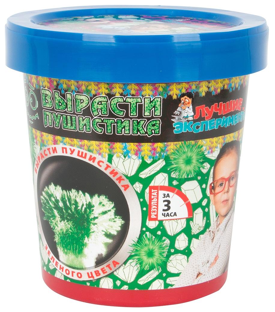 Купить Набор для выращивания кристаллов Qiddycome Вырасти зеленого пушистика, Научные технологии, Наборы для выращивания кристаллов