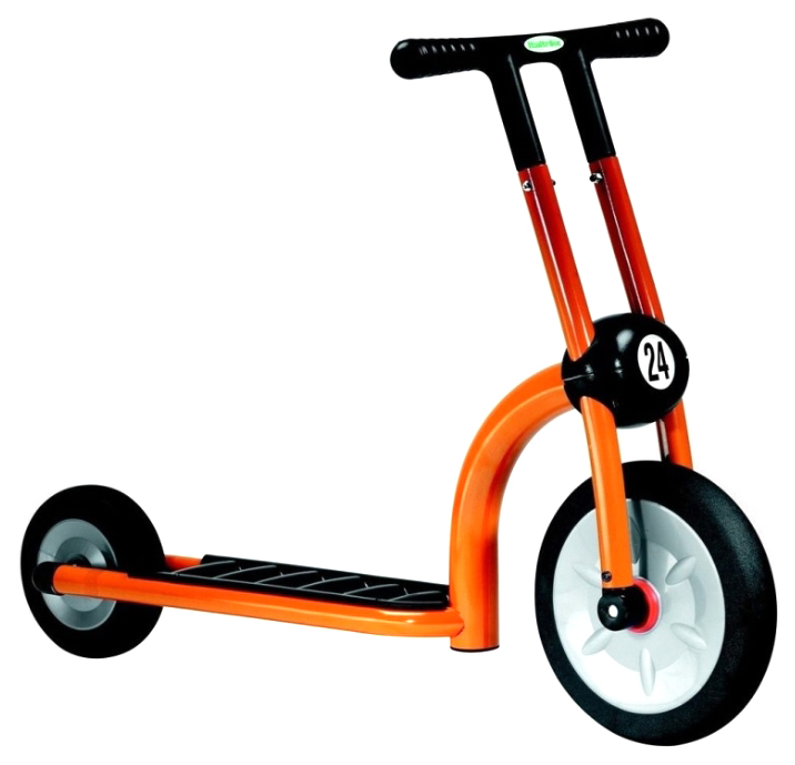 Самокат Italtrike скутер динамик двухколесный оранжевый