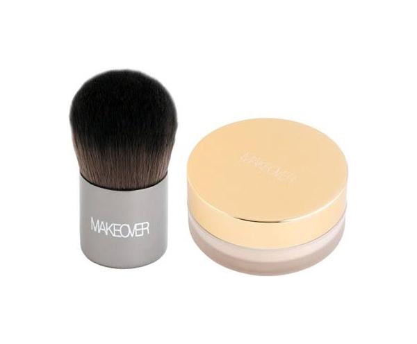 Пудра Makeover Paris Loose Powder Foundation With Mini Kabuki Brush 12 г фото