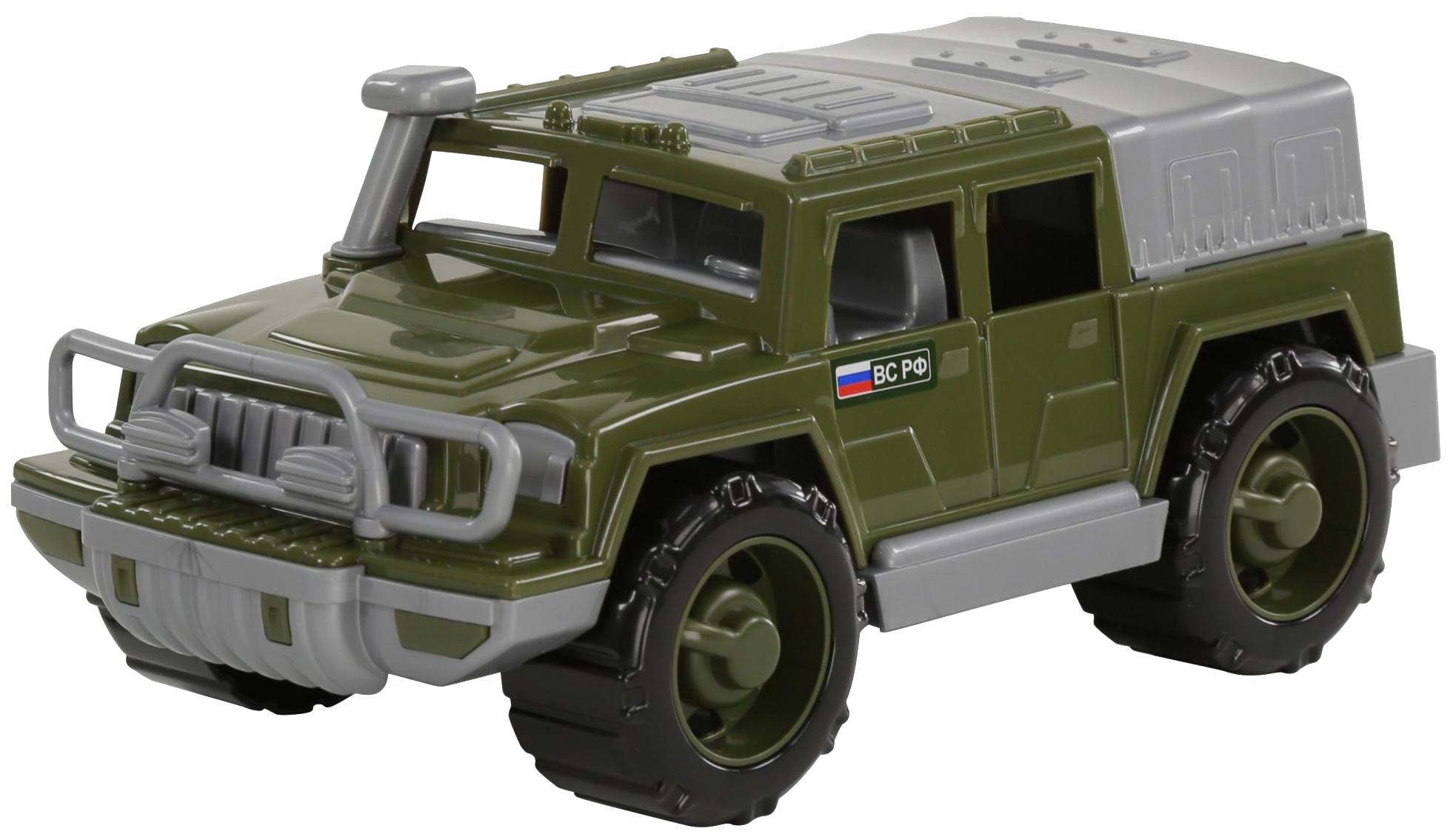 Купить Игрушки, Автомобиль-джип Полесье военный Защитник №1, Игрушечные машинки