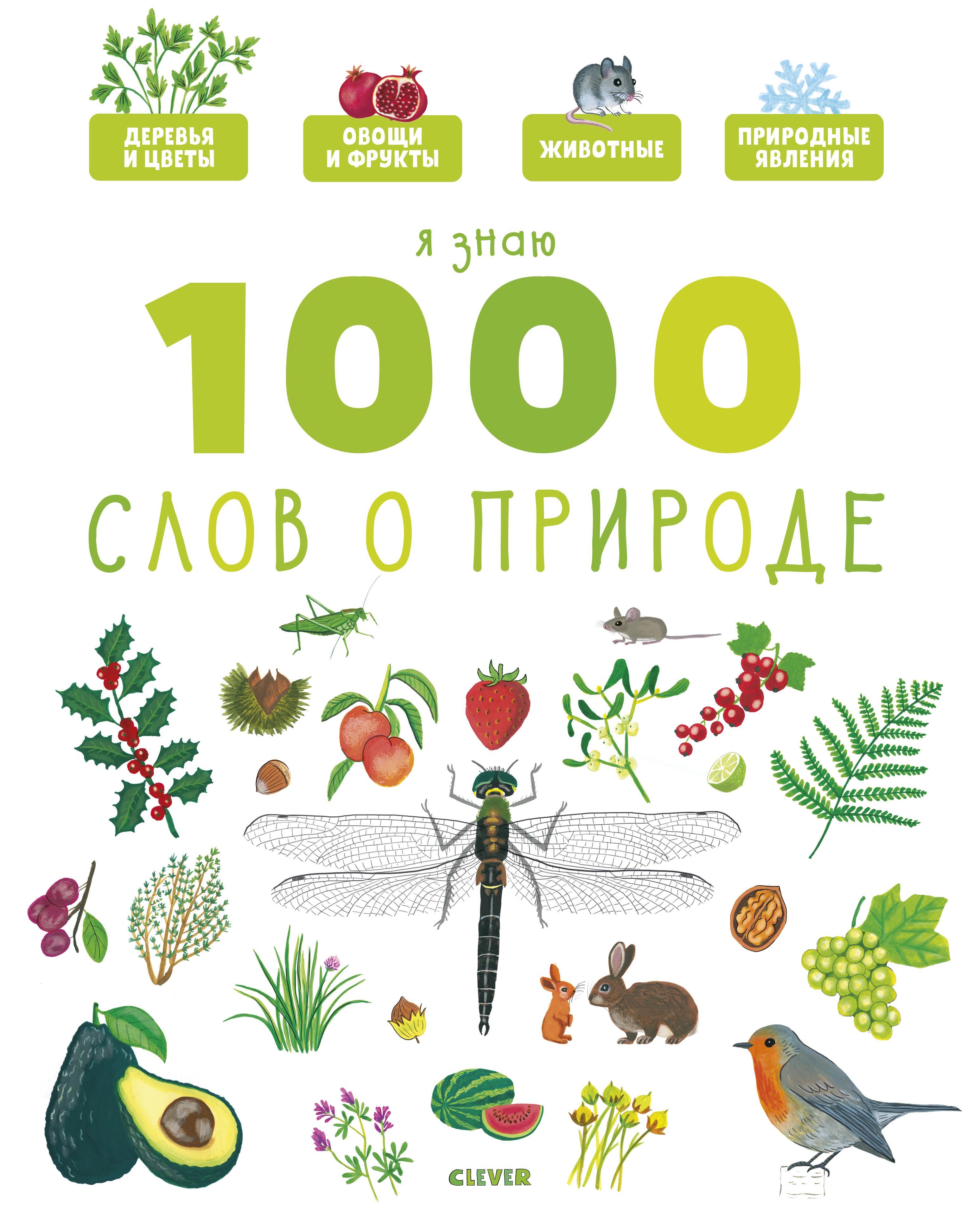 Купить Главная книга Малыша. Я Знаю 1000 Слов о природе, Clever, Рассказы и повести