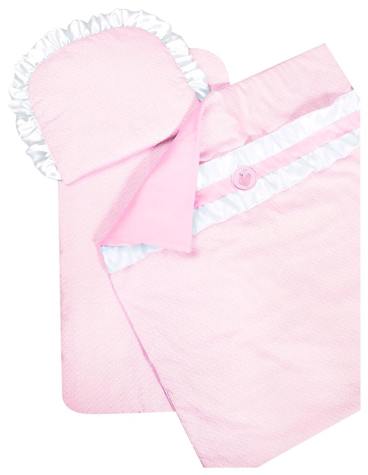 Комплект в коляску Конфетка розовый Сонный Гномик