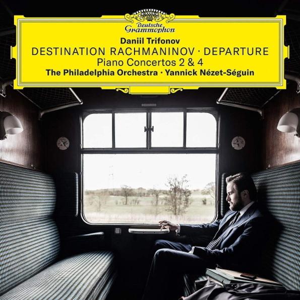 """Виниловая пластинка """"Destination Rachmaninov: Departure - Piano Concertos 2 & 4"""""""