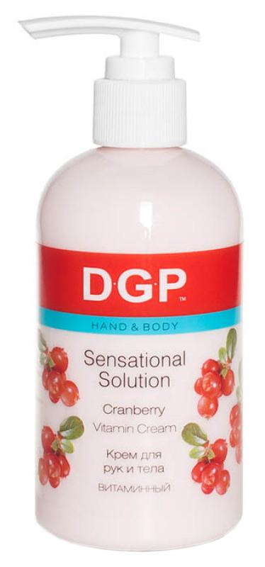 Купить Крем для рук Domix Sensational Solution Витаминный Клюква и брусника 260 мл, Domix Green Professional