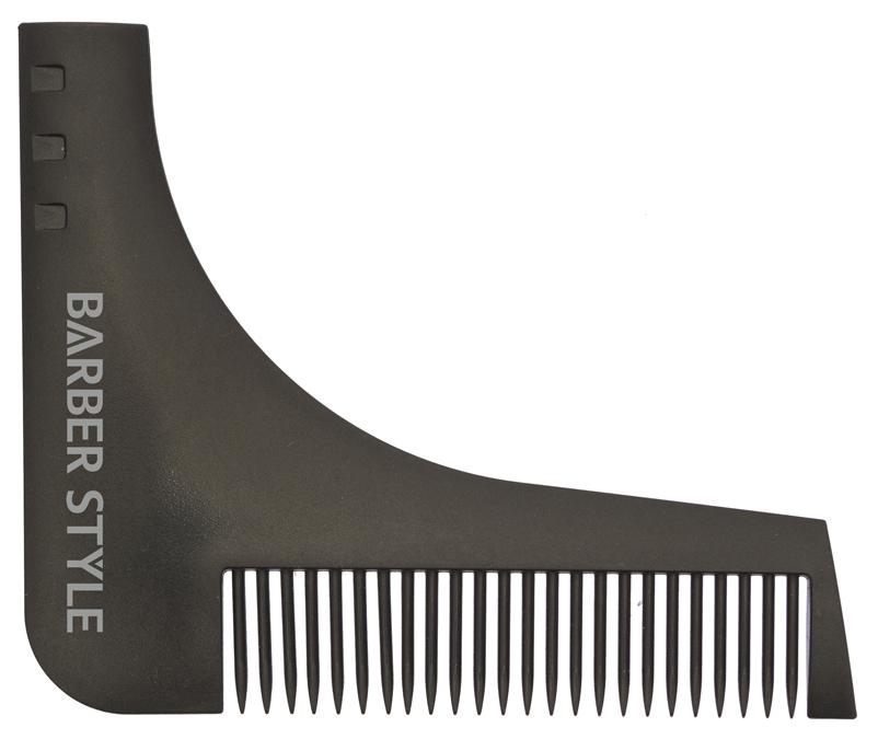 Расческа для бороды Dewal CO 007 Черный