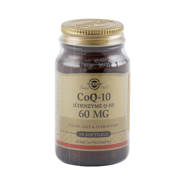 Солгар Коэнзим Q-10 капсулы 60 мг 30 шт. фото