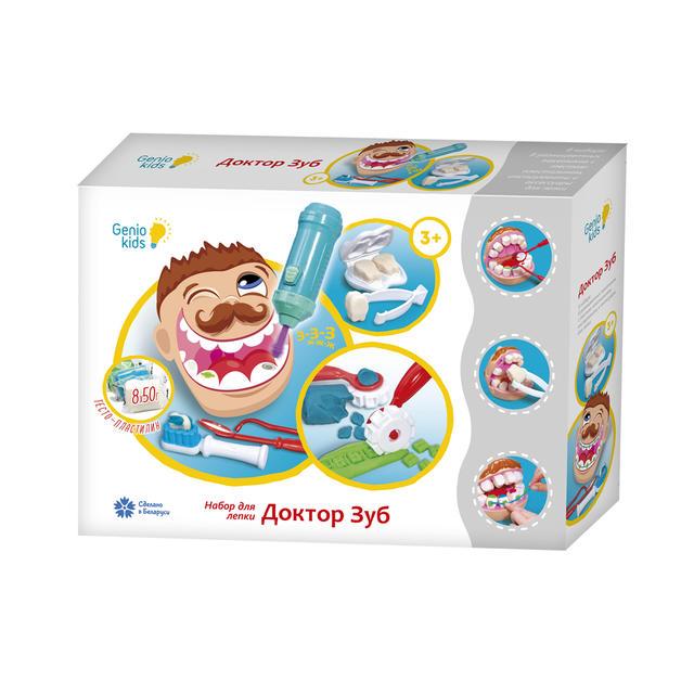 Набор для детской лепки Доктор Зуб
