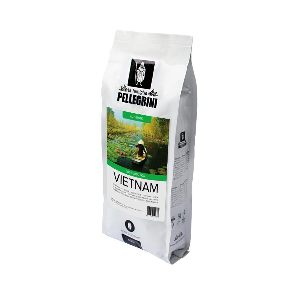 Кофе зерновой La famiglia Pellegrini Vietnam 500  г