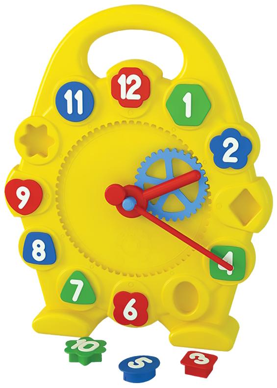 Купить Игрушка развивающая ТЕХНОК Часы с логической системой 55*34 см, ТехноК,