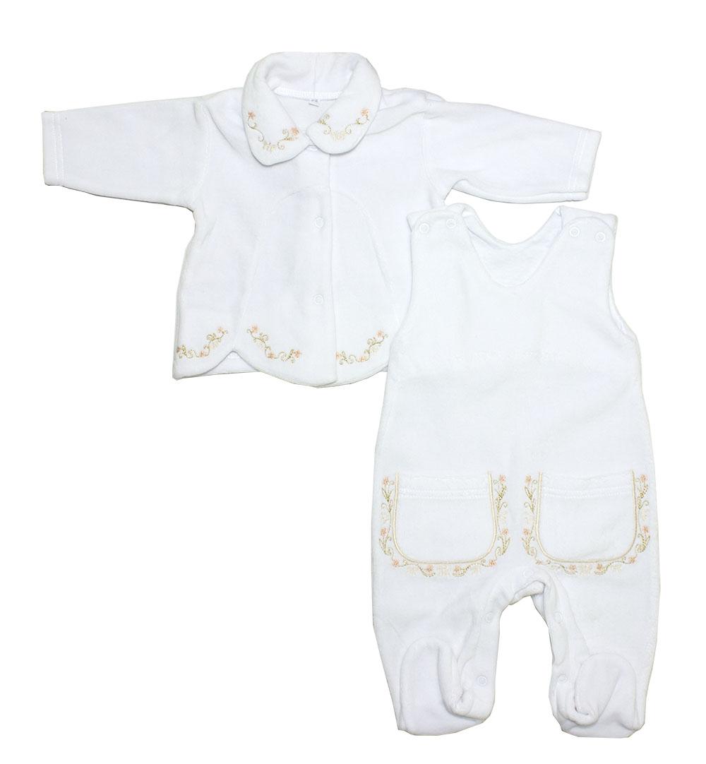 Комплект одежды Осьминожка, цв. белый р.68
