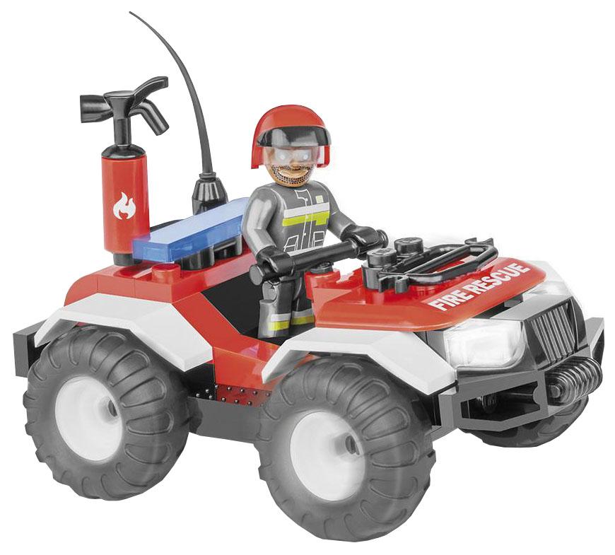 Купить Конструктор пластиковый COBI Пожарный квадроцикл, Конструкторы пластмассовые