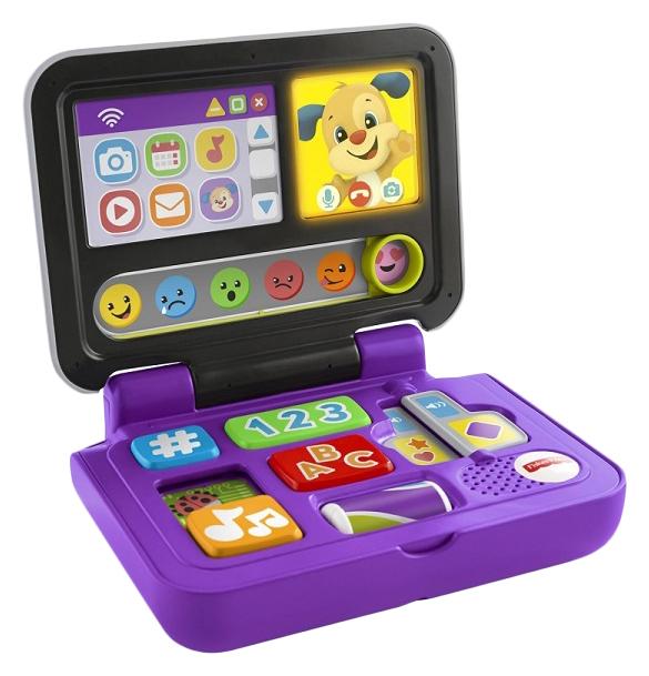 Интерактивная игрушка Mattel Fisher Price Ноутбук Ученого